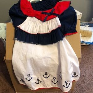 Other - Little sailor dress